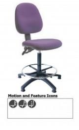 Royston Medium Back Draughtsman Chair